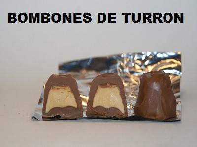 Bombones rellenos de Turrón de Jijona 250g.