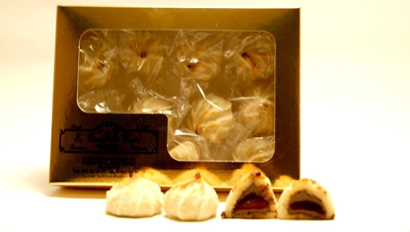 Caja de suspiros de chocolate 400 g.