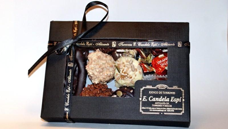 Caja surtida chocolates artesanos 400 g.