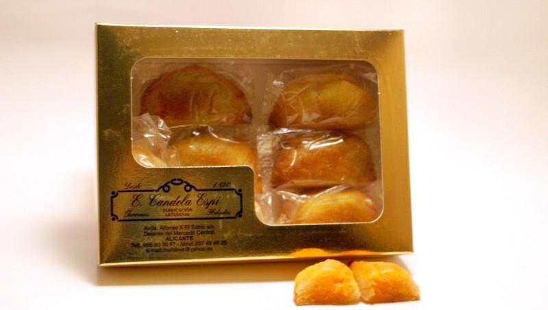 Caja de empanadillas de yema 400 g.