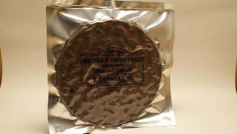 Tortas Turrón de chocolate puro 200 g.