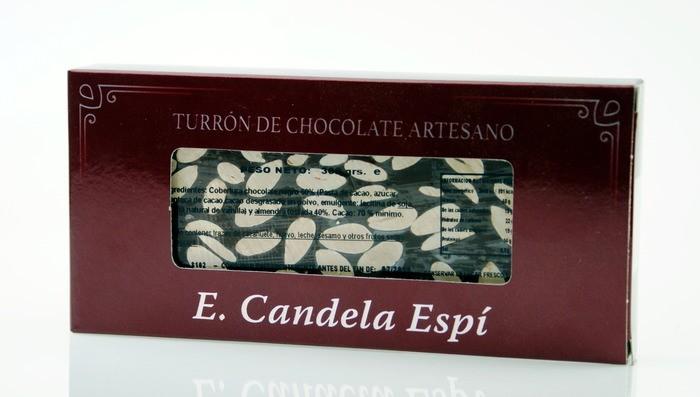 Turrón de chocolate puro 300 g