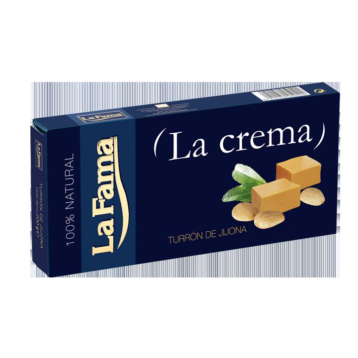 """Turron de Jijona """"la crema""""La Fama 200g."""
